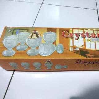 Crystantik Gelas Ice Cream 5 pcs