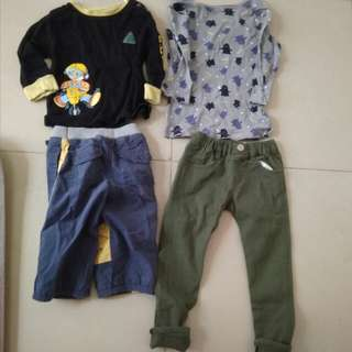 2 yrs clothes $60 for all