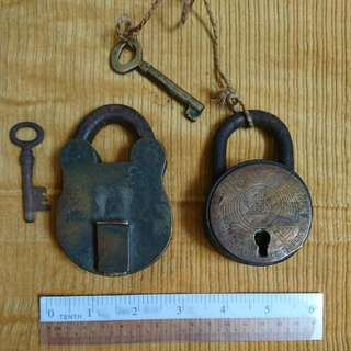 Antique brass locks made in Germany $150ea