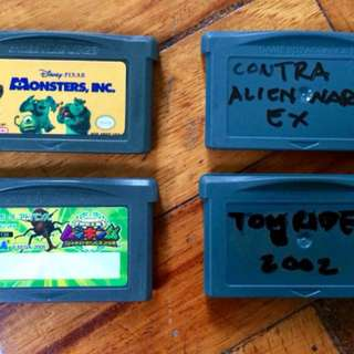 Nintendo Gameboy Advance Cartridge