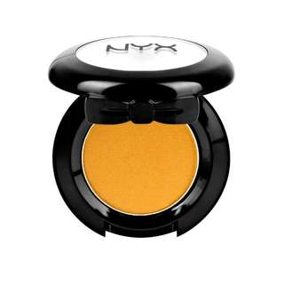 NYX yellow eyeshadow
