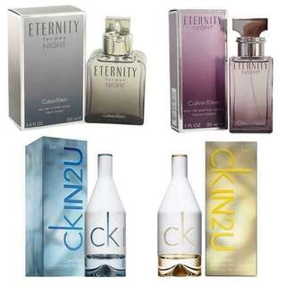 Authentic perfumes