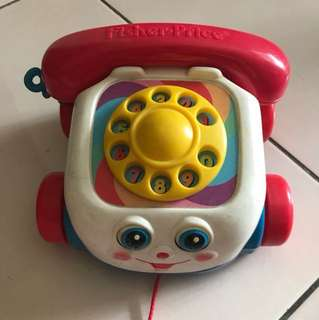 Vintage Fisher Price Fon