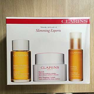 Clarins body shaping, treatment oil & gel bust