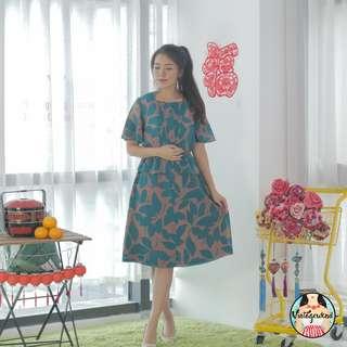 🍿 Vintage Midi Dress VD1181
