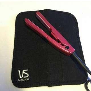 Vidal Sassoon travel size hair straightener
