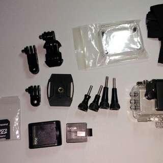 SJCAM 5000 accessories