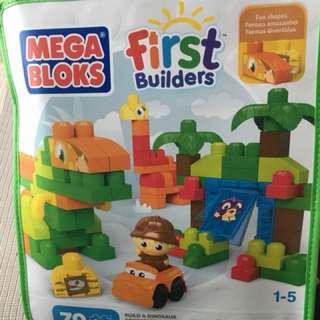 Mega Bloks First Builder Fisher Price