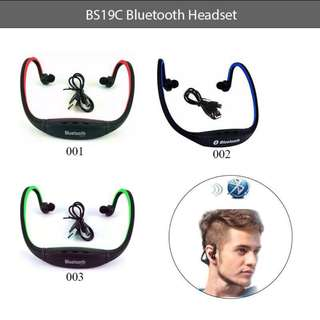 BS19C Bluetooth Headset