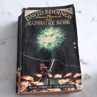 The sapphire rose David Eddings bk3 of the Elenium