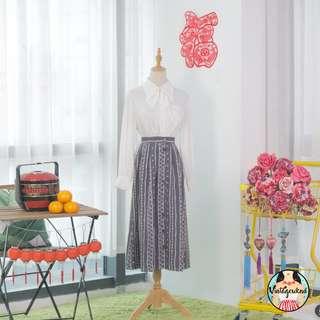 🍿 Vintage Midi Skirt VS1323