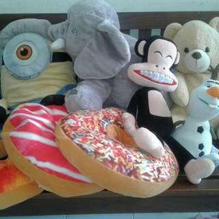 Cushion Pillow & Soft Toys