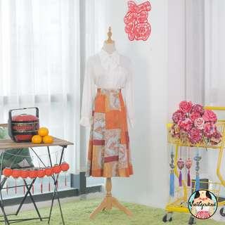 🍿 Vintage Midi Skirt VS1324