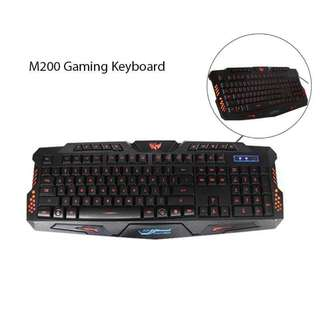Backlighting Gaming Keyboard #M200
