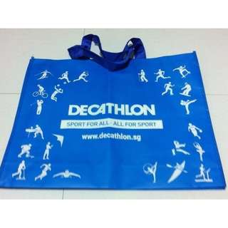 Moving out sale / Clearance Sale? Garge Sale Brand new Decathlon Shopping bag (Not Ikea, Giant,Cold Storage , Ntuc, Fair price, Voucher