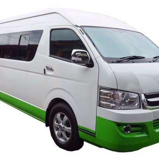 Singapore to Malaysia Overland 16seater Van Full Day Service