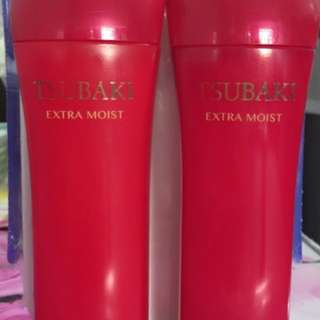 TSUBAKI Extra Moist Shampoo & Conditioner