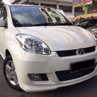 2010 Perodua Myvi 1.3 EZ (Auto) Pearl White