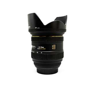 Used-SIGMA 24-70MM F/2.8 IF EX DG HSM(CANON)