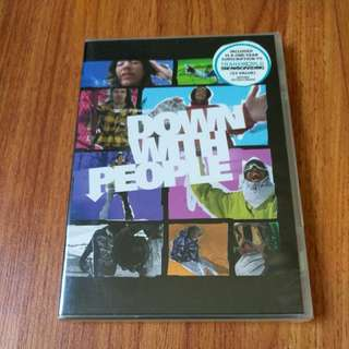 Brand New Down With People Snowboarding DVD-ROM
