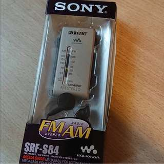 Sony SRF-S84 AM/FM 收音機, DSE 聆聽考試必備, 99% new