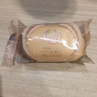 The body shop shea butter soap