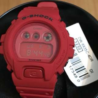 Casio G-Shock 35週年特別版 DW-6935 紅色