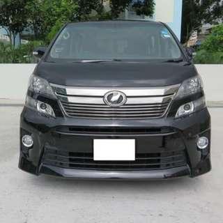 Toyota Vellfire 2.5 Auto Z G-Edition 7-Seater