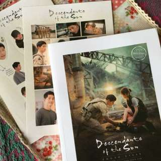 Descendants of the Sun (inclusive of stickers and polaroid pics)