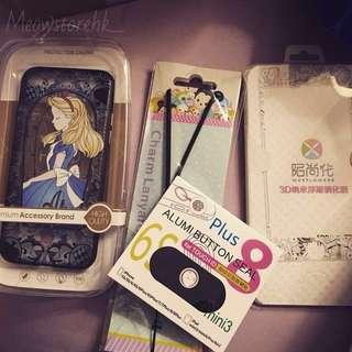 迪士尼iphone7/8手機配件set📱