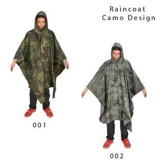 Raincoat Camo/Minecraft