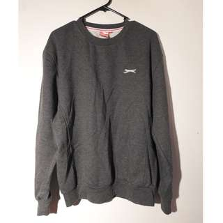 Grey Slazenger Jumper