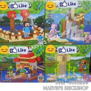 For Sale MINECRAFT 4in1 Building Blocks Toy