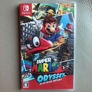 [switch game] Super Mario Odyssey