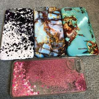 Phone cases - marble, sparkly, paint splash