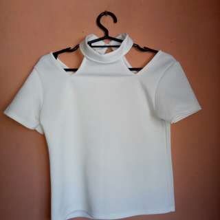 White Blouse Top