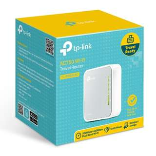TP- Link - AC750 Wireless Travel Router TL-WR902AC