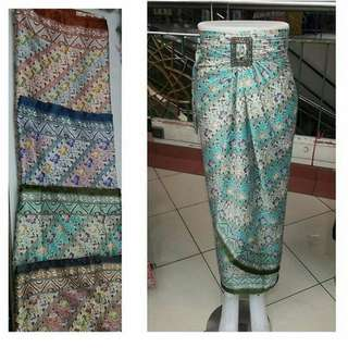 Rok lilit batik halus freeong jabodetabek