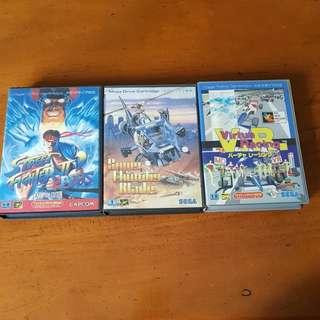 SEGA Megadrive/Genesis Games