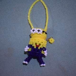 Minion beads bag
