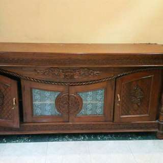 Antique Wooden Cabinet and sideboard