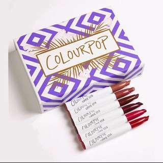 Colourpop Staycation Matte Lippie Stix Set