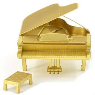 D.I.Y. Gold colour piano