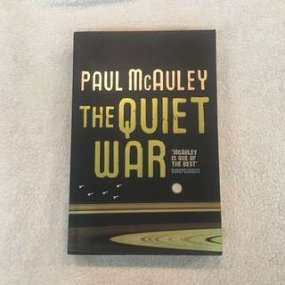 The Quiet War by Paul McQauley (science fiction)