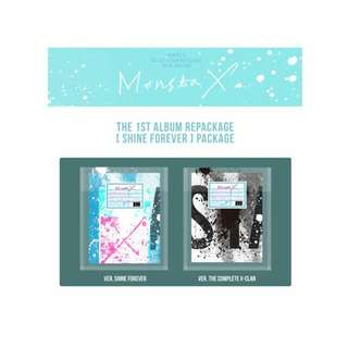 (1-2 wks eta) MONSTA X SHINE FOREVER VERSION ALBUM