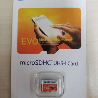 Samsung SD Card 64G
