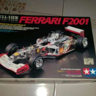 *FAST DEAL!!* Limited Edition Ferrari f2001 Tamiya