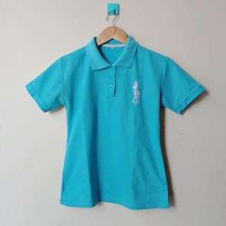 Blue Polo Tshirt