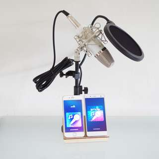 Condenser Microphone Set for iPhone & Android