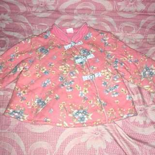 Pink Kimono Inspired Blazer